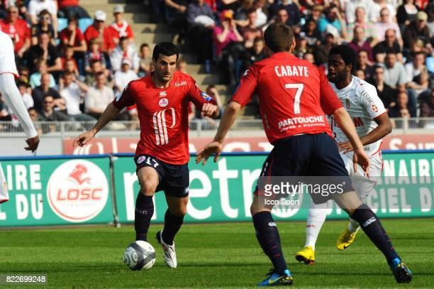 Pierre Alain FRAU Lille / Monaco 33eme journee de Ligue 1 Stadium Nord Villeneuve d'Ascq