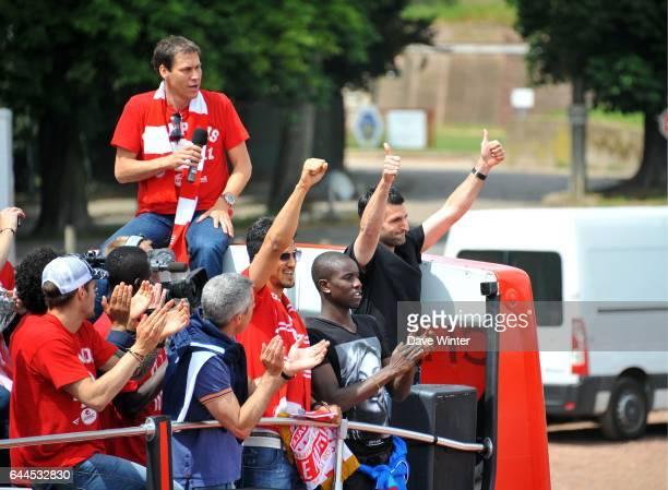 Pierre Alain FRAU - Parade de l'Equipe de Lille en bus pour feter son Titre de Champion de France 2011 - - Lille, Photo: Dave Winter / Icon Sport,
