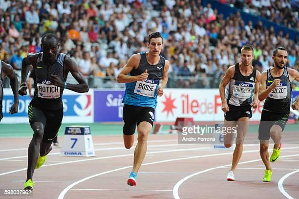 Pierre Ambroise Bosse during the Meeting of Paris IAAF Diamond League 2016 at Stade de France on August 27, 2016 in Paris, France.