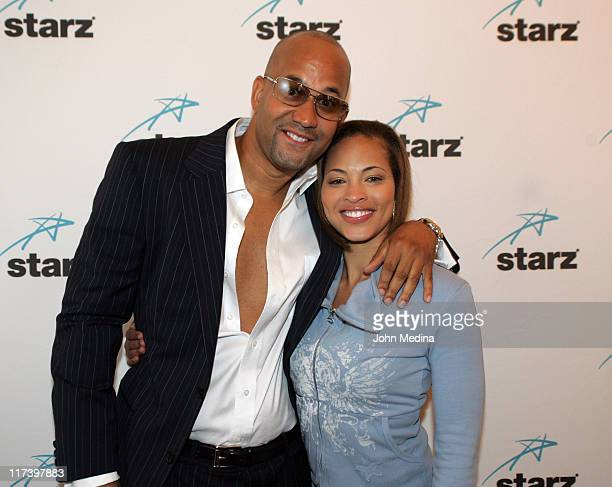 Pierre and Iva Lashawn during Martin Lawrence Presents The 1st Amendment StandUp Comedy Show for Starz at The Improv in San Jose California United...