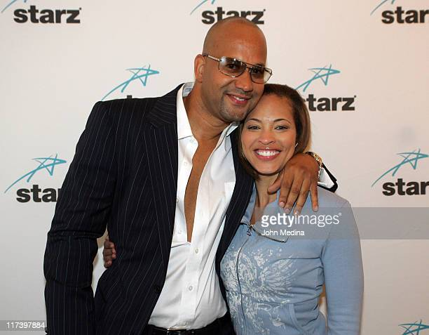 Pierre and Iva La'Shawn during Martin Lawrence Presents The 1st Amendment StandUp Comedy Show for Starz at The Improv in San Jose California United...