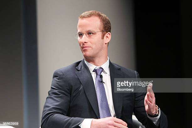 Pierre Andurand, co-founder and chief investment officer of BlueGold Capital Management LLP, speaks during the Bloomberg Markets Global Hedge Fund...