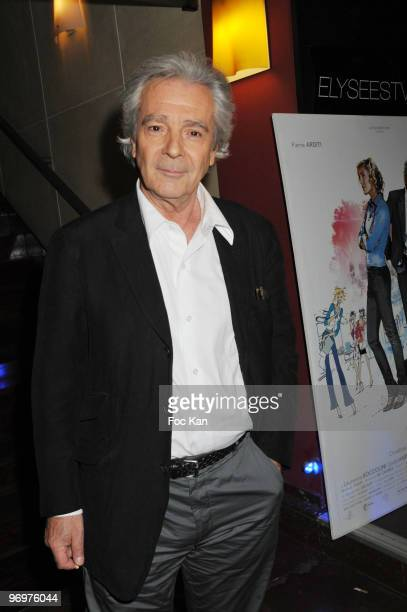 Pierre Arditi attends the Tu Peux Garder un Secret Paris Premiere At the Cinema Biarritz Champs Elysees on May 05 2008 in Paris France