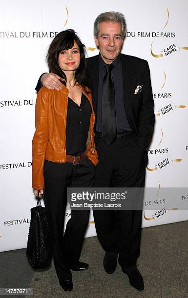 Pierre Arditi Evelyne Bouix during 18th Paris Film Festival 2003 Premiere at Gaumont Marignan in Paris France