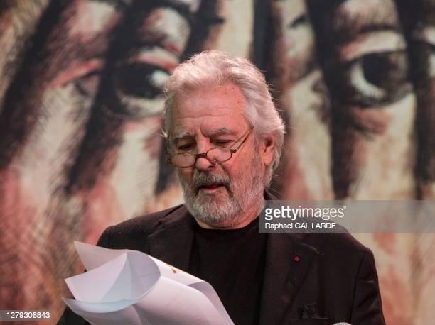 Pierre Arditi lors de la remise des Topor d'Or 2018, événement conçu et réalisé par Jean Michel Ribes, prix de l'inattendu du spectacle vivant au...