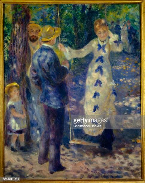 Pierre Auguste Renoir The Swing 1876 Oil on canvas 092 x 073 m Paris Orsay Museum