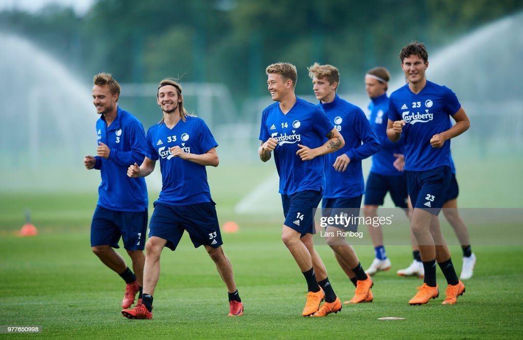 FC Copenhagen Training Session
