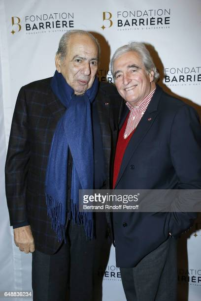 Pierre Benichou and JeanLoup Dabadie attend 'Monsieur Madame Andelman' Premiere Hosted By Fondation Barriere at Cinema Elysee Biarritz on March 6...