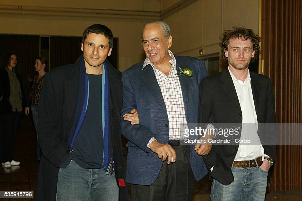 Pierre Benichou and JeanPaul Rouve attend Singer the 22nd Cognac Film Festival Opening Ceremony