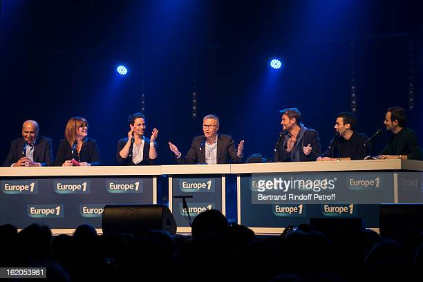 Pierre Benichou Caroline Diament Steevy Boulay Laurent Ruquier Christophe Beaugrand Mustapha El Atrassi and Jeremy Michalak perform during the 3rd...