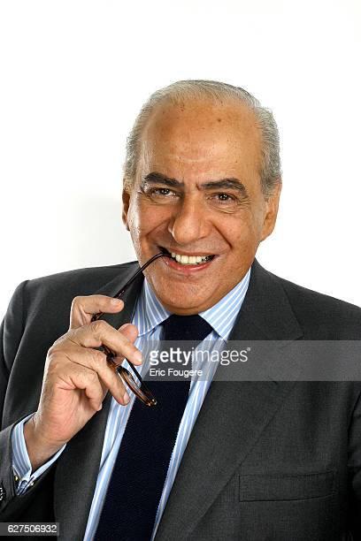 Pierre Benichou on the set of TV show Les Grands du Rire