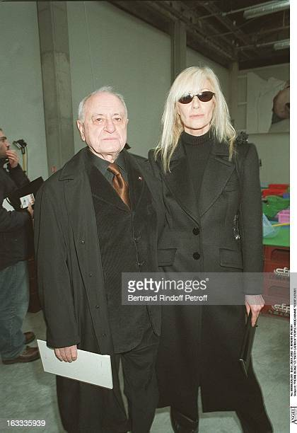 Pierre Berge and Betty Catroux man fashion Dior in Paris
