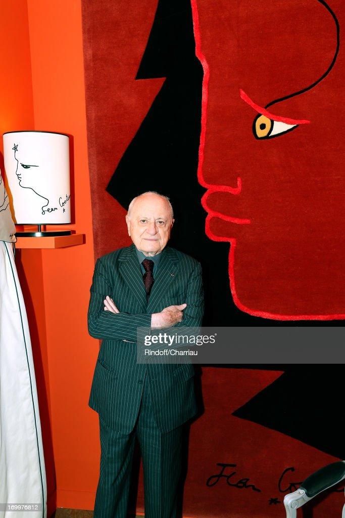 'Jean Cocteau Accessories' Exhibition Preview At Roche Bobois Store In Paris