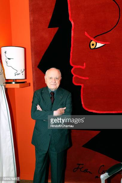 Pierre Berge Chairman of the Board Jean Cocteau and exclusive owner of moral rights throughout the work of Jean Cocteau attends 'Jean Cocteau...
