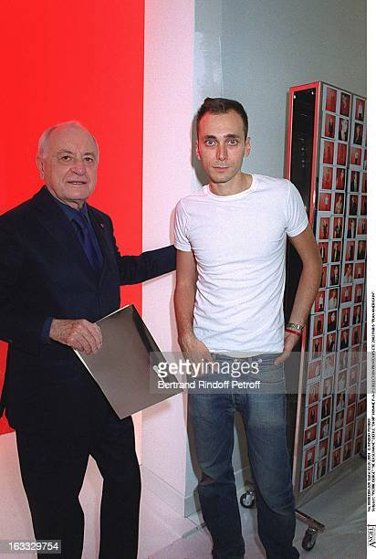 Pierre Berge 'Hedi Slimane at theDior Catwalk Meanswear PAP Collection Spring Summer 2002 In Paris