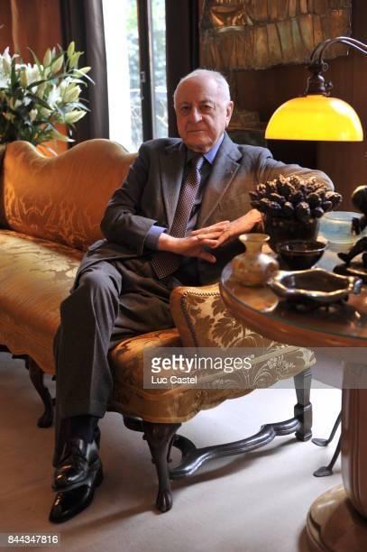 Pierre Berge on January 16 2009 in Paris France
