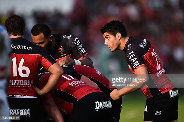 Pierre Bernard of Toulon during the Top 14 match between Toulon and Clermont at on September 25 2016 in Toulon France