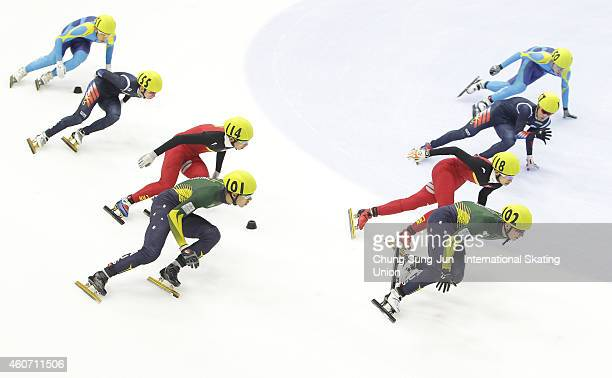 Pierre Boda and Alex Bryant of Australia Xu Hongzhi and Chen Dequan of China Sin DaWoon and Park SeYeong of South Korea and Mersaid Zhaxybayev and...
