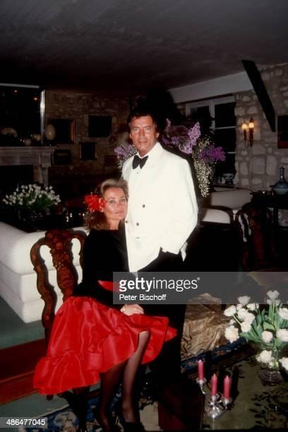 Pierre Brice Ehefrau Hella Homestory am Orleans bei Paris Frankreich