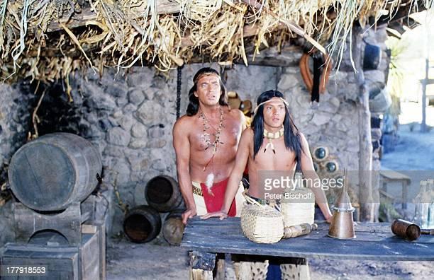 Pierre Brice Indianer ARDSerie Mein Freund Winnetou vom französischen Fernsehen Antenne 2 Folge 1 Blut und Sand Durango Mexiko Mittelamerika...