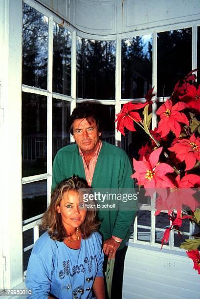 Pierre Brice mit Ehefrau Hella HomestoryLandhaus Orleans/Paris/Frankreich