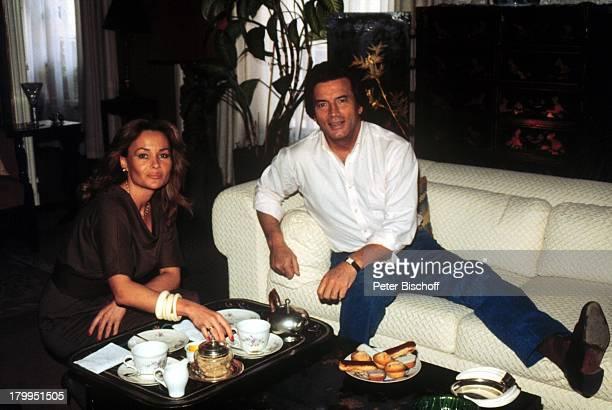 Pierre Brice mit Ehefrau Hella HomestoryStadtwohnung Paris/Frankreich