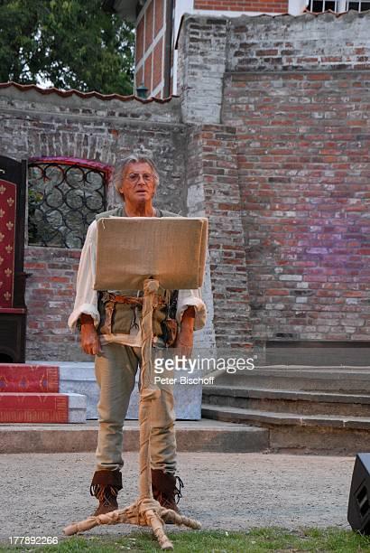 Pierre Brice Premiere historisches FamilienMusical Der Traum von Freiheit Tjede Heldin des Nordens Sommertheater im Schloßgarten Cuxhaven...