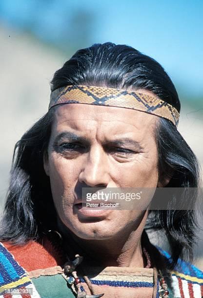 Pierre Brice Winnetou Der Schatz im Silbersee Elspe/Sauerland Stirnband IndianerKostuem Schauspieler Schauspielerin Promis Prominente Prominenter HD