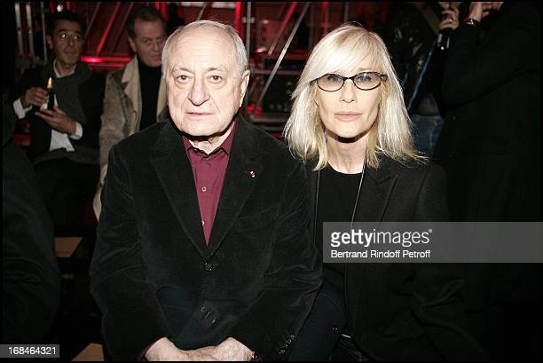 Pierre Cardin and Betty Catroux at Dior Homme Men's Collection Fall/Winter 2005/2006
