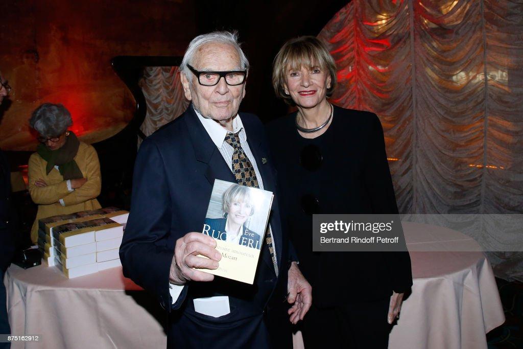 Eve Ruggieri Book Signing At Maxim's In Paris