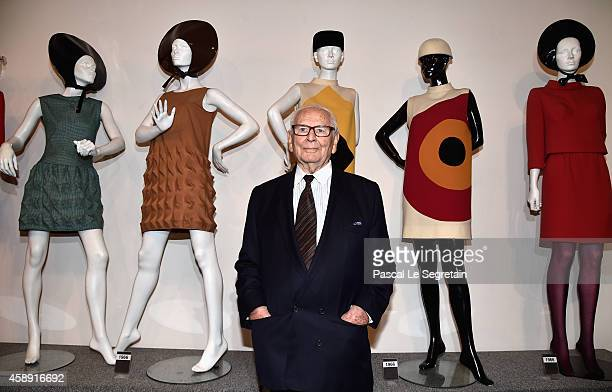 Pierre Cardin attends an Opening Cocktail at Musee Pierre Cardin on November 13 2014 in Paris France