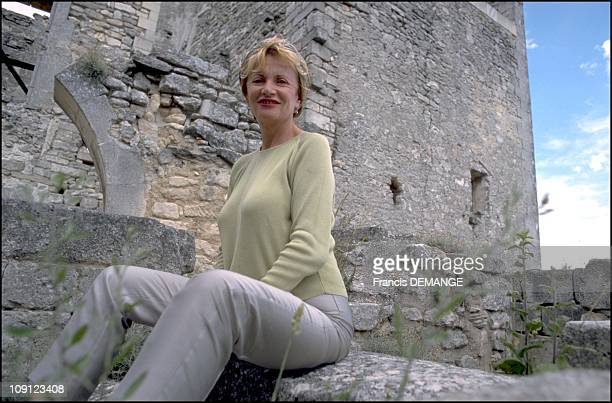 Pierre Cardin Buys The Castle Of The Marquis De Sade On January 6Th 2001 In Lacoste France Eve Ruggieri