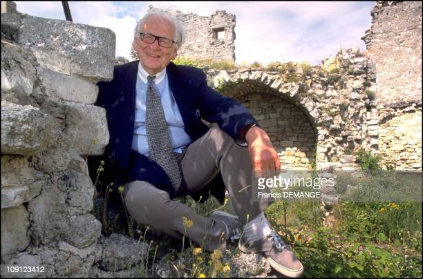 Pierre Cardin Buys The Castle Of The Marquis De Sade On January 6Th 2001 In Lacoste France
