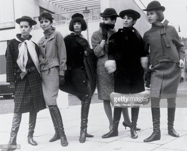 Pierre Cardin fashions at the Sunday Times Fashion Awards 1963 Pierre Cardin fashions at the Sunday Times Fashion Awards Hilton Hotel London 15...