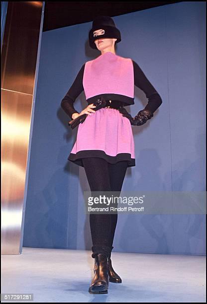Pierre Cardin Haute Couture fashion show fall winter 19921993 collection in Paris