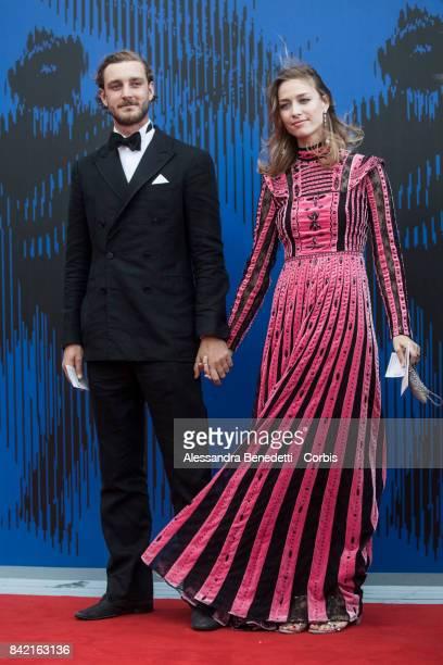 Pierre Casiraghi and Beatrice Borromeo attend the The Franca Sozzani Award during the 74th Venice Film Festival at Sala Giardino on September 1 2017...