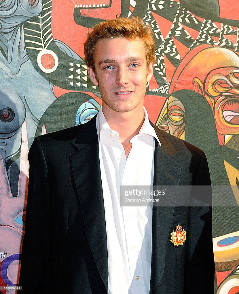 Pierre Casiraghi attends Graffiti Au Yacht Club De Monaco, paint exhibition, on May 19, 2010 in Monaco, Monaco.