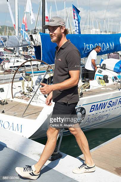 Pierre Casiraghi attends the 35th Copa Del Rey Mafre Sailing Cup on August 2 2016 in Palma de Mallorca Spain