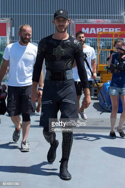 Pierre Casiraghi is seen the previus day of the 36th Copa Del Rey Mapfre Sailing Cup at the Real Club Nautico de Palma on July 30 2017 in Palma de...