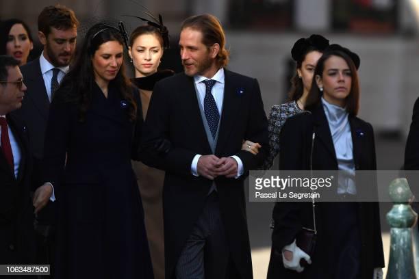 Pierre CasiraghiTatiana Casiraghi Beatrice Casiraghi Andrea Casiraghi Pauline Ducruet and Princess Alexandra of Hanover attend Monaco National Day...