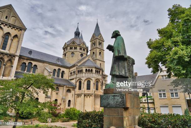 pierre cuypers statue in roermond, netherlands - design occupation stock pictures, royalty-free photos & images