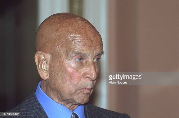 Pierre de Benouville is one of the supporters of French Resistance leader Raymond Aubrac during his 1991 trial after being accused of betraying Jean...