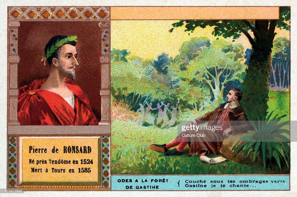 Worlds Best Poet Pierre De Ronsard Stock Pictures Photos