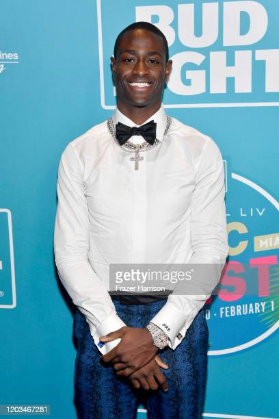 Pierre Desir attends Bud Light Super Bowl Music Fest on February 01, 2020 in Miami, Florida.