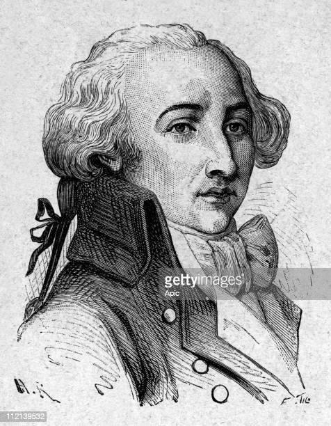 Pierre Dezoteux de Cormatin Chouan 19thcentury engraving