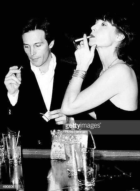 Pierre Drap and Elsa Martinelli at Studio 54 New York New York 1978
