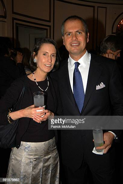 Pierre Durand and Carol Vogel attend Kartika Soekarno foundation for Indonesian Children Presents Magnum Photo's Shadow Play Fundraiser at Indonesian...