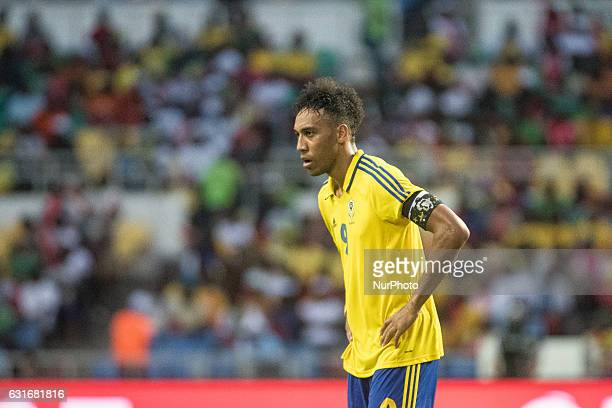 Pierre Emerick Emiliano François Aubameyang during the second half at African Cup of Nations 2017 between Gabon and GuineaBissau at Stade de lAmitié...