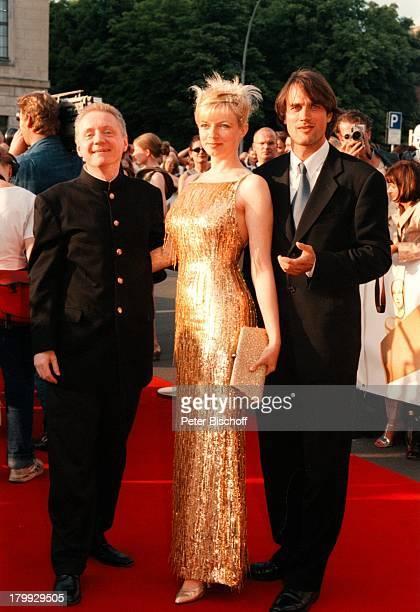 Pierre Franckh Ehefrau Michaela MertenRalf Bauer Die Nacht der StarsDeutscherFilmpreis 99Verleihung BerlinStaatsoper Unter den Linden