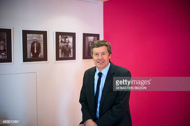Pierre Freyburger, Socialist Party candidate for the 2014 municipal elections in Mulhouse, poses for a picture in Mulhouse, eastern France, on...
